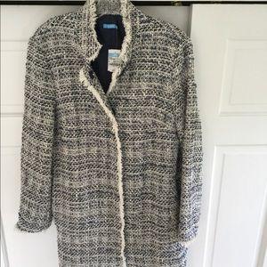 J McLaughlin Walden Tweed Coat